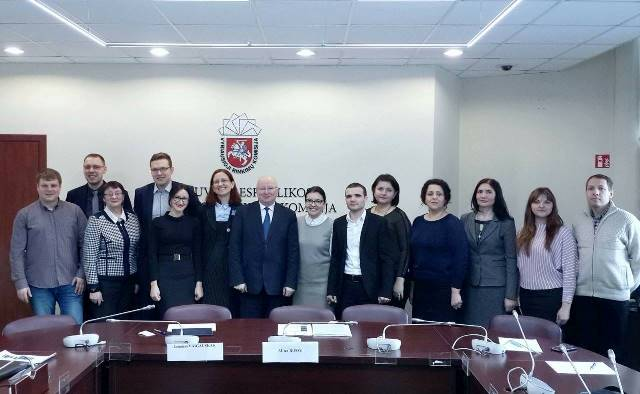 The Central Election Commission of the Republic of Moldova delegation arrived in Lithuania