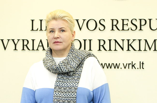 The CEC Vice-chairwoman-secretary was elected Svetlana Miseviciene