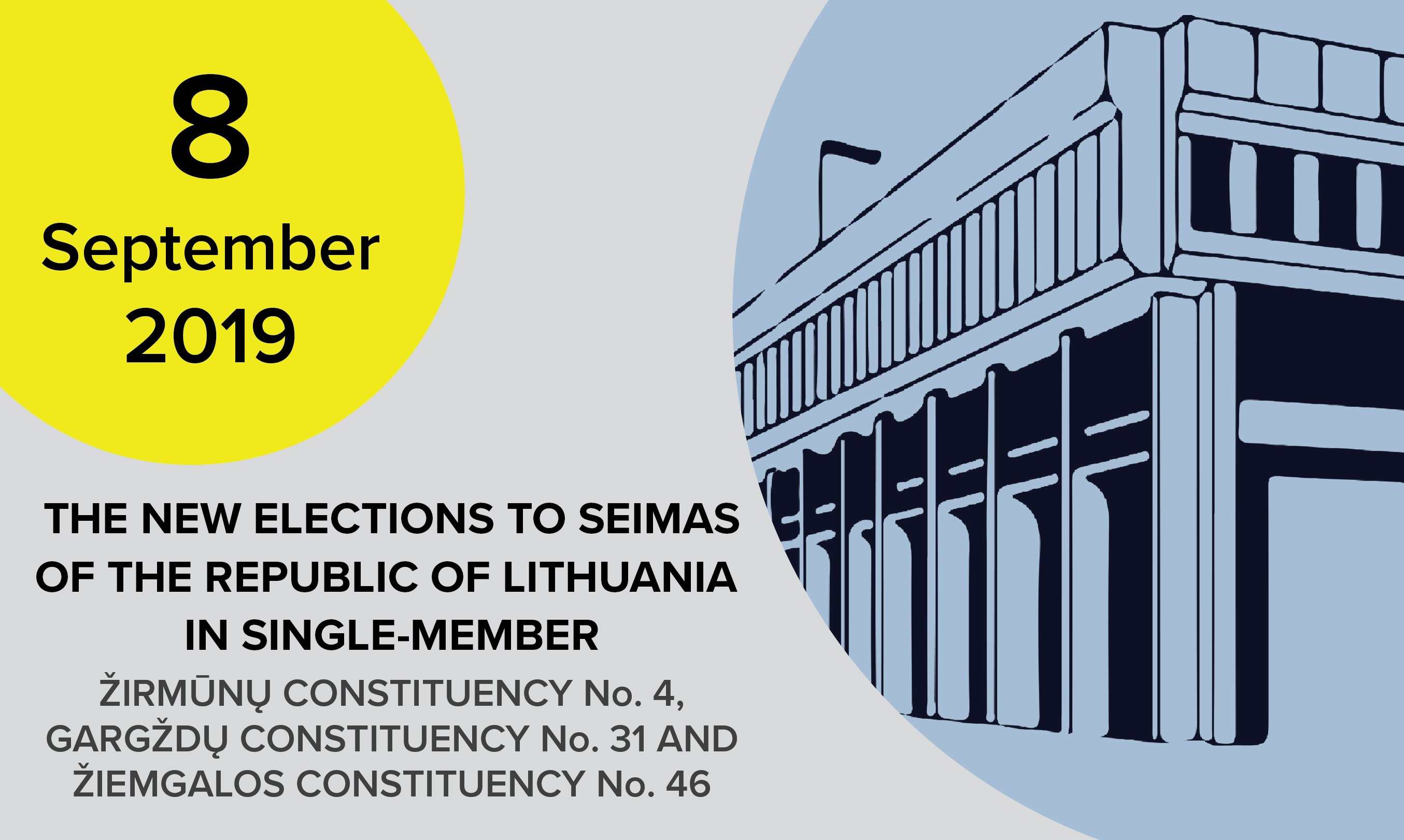 The new Elections to the Seimas